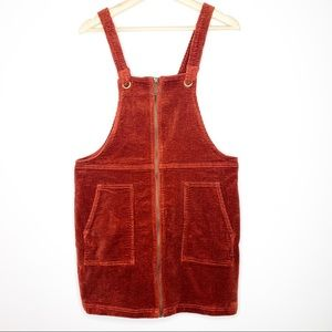 NWOT Corduroy Overall / Pinafore Dress Wild Fable